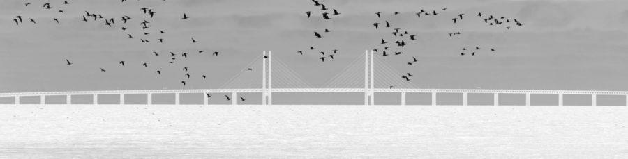 Tavla Öresundsbron - Canvas