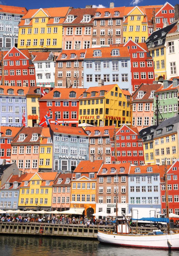 Tavla med fotokonst från Köpenhamn